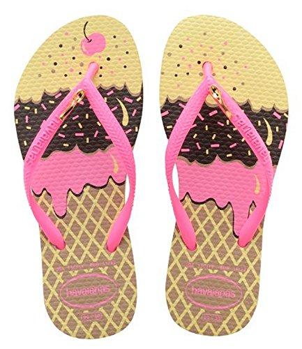 Havaianas Mädchen Flip Flops Gold (ROSE GOLD 3581)