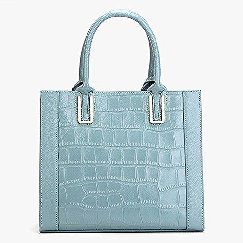 Sac portés à main DISSA M130 Bleu épaule Sac femme Sac bandoulière fashion LF cuir en wqaqZT