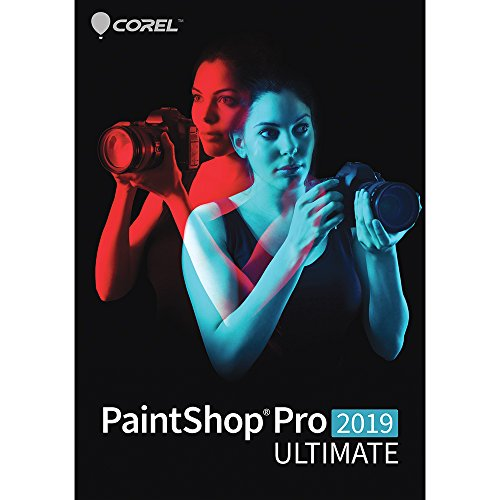 PaintShop Pro 2019 Ultimate - Photo with Multi-Cam Video Editing Software [Amazon Exclusive] [PC Download]