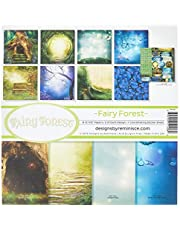 """Reminisce FAF-200 Fairy Forest Collection Kit, 12"""" by 12"""", Multicolor"""