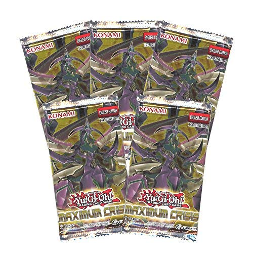 Yu-Gi-Oh Cards - Maximum Crisis - Booster Packs (5 Pack Lot)