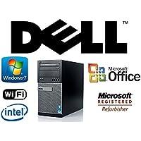 Tower Computer Desktop PC Optiplex Intel i5-QUAD Core 3.1GHz CPU 16GB DDR3 RAM NEW 1TB HDD Windows 7 Pro + MS Office WiFi DVD-RW
