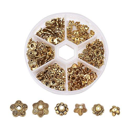 flower cone beads - 2
