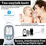 Music Sound Todllers Video Monitor With Portable Screen And Camera,Security Guard To Protect Baby From Fear And Loneliness,1 Pack Best Gift For Infant Baby (1 to 5 Years)