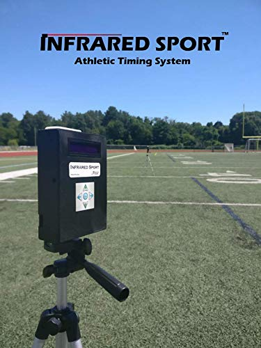 Timer Reaction - Infrared Sport - Wireless and gateless Sprint Timer, Lap and Agility Timer, and More