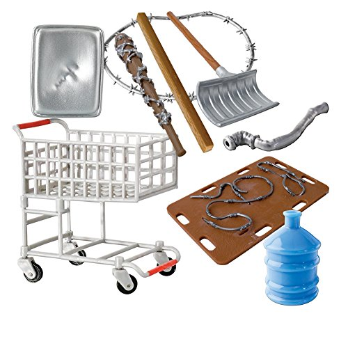 Hardcore Shopping Cart 9 Piece Deal for WWE Wrestling Action Figures by Figures Toy Company