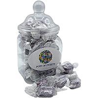 200 gramo Jar regaliz y grosella negra dulces