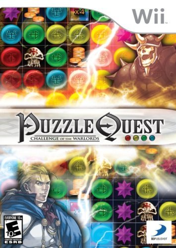 Puzzle Quest: Challenge Of The Warlords - Nintendo Wii by D3 Publisher