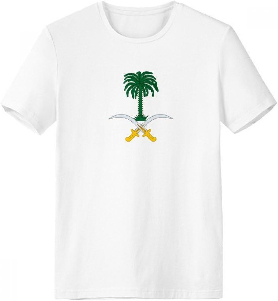 DIYthinker Arabia Saudita Asia Emblema Escote de la Camiseta Blanca Nacional de Primavera y Verano de Tagless Comfort Deportes Camisetas de Regalos - Multi - XXXL: Amazon.es: Deportes y aire libre