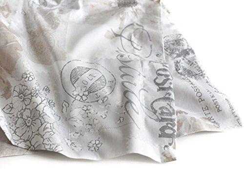 paris postal stamp french vintage duvet quilt cover by designer nicole miller parisian theme bedding set taupe grey script on white queen in oman