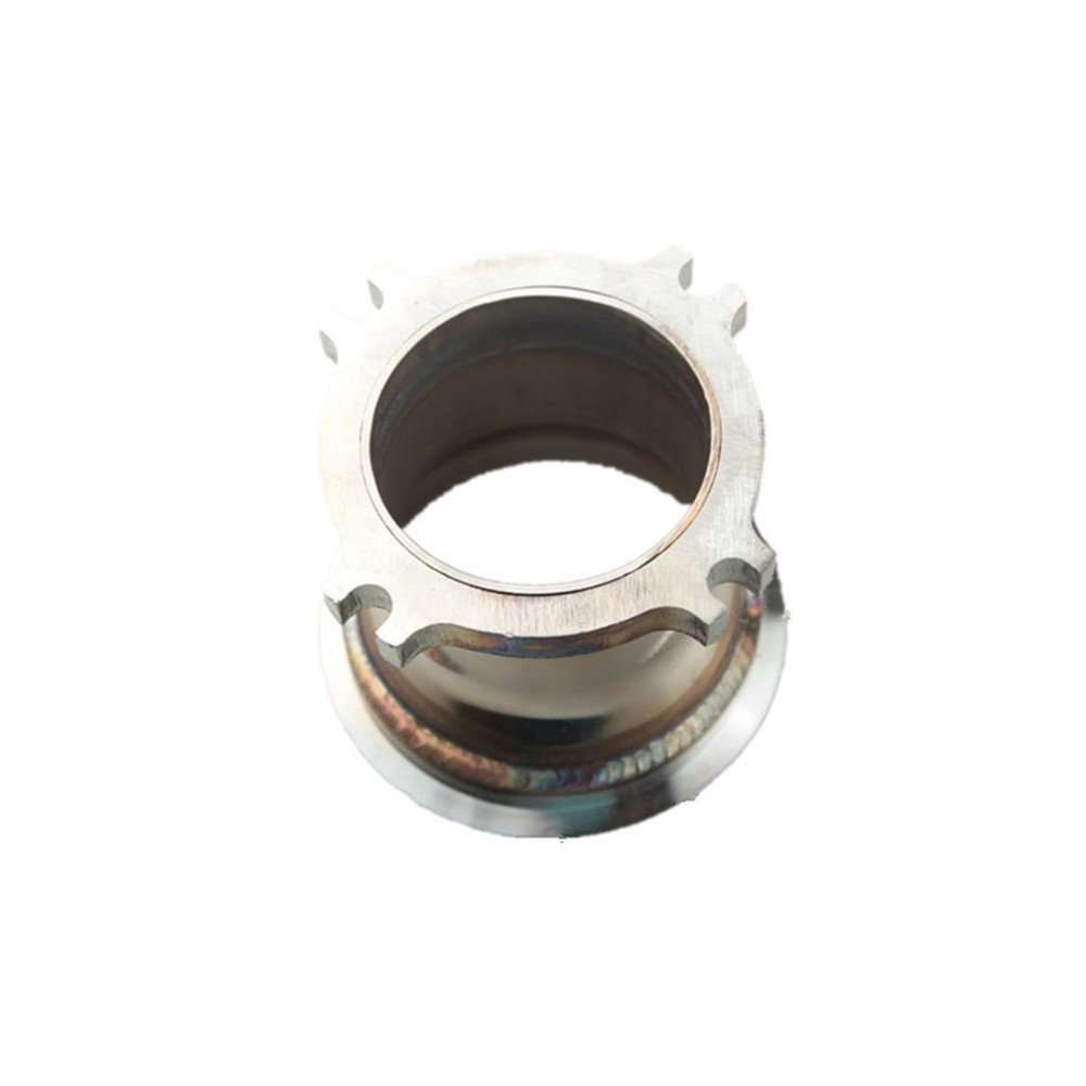 TURBO CHARGER TURBOCHARGER MANIFOLD FLANGE ADAPTER T3 TO T4 CONVERSION CAST AdlerSpeed