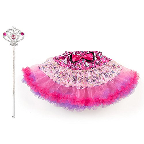 [Sanrio Hello Kitty tutu skirt & cane set From Japan New] (Tutu Costume Ideas For Toddlers)