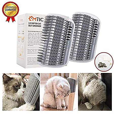 Amazon.com: Cepillo para gatos, peine de masaje de esquina ...
