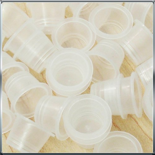 100 Pieces Large Tattoo Ink Caps Cups Supplies #16