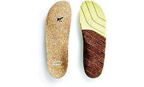 Honey Soles Natural Cork Shoe Insoles,size E