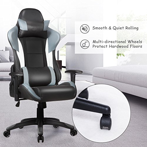 ... COLIBROX  Ergonomic High Back Racing Style Gaming Chair Recliner  Executive Office Computer,video ...