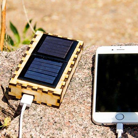 Solar Battery Charging Kit - 3