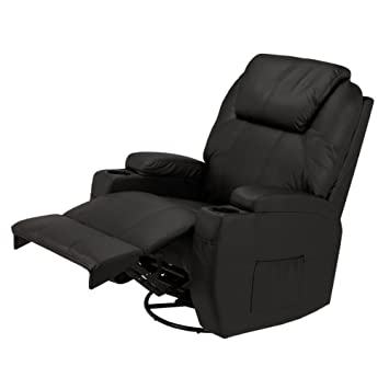 Brilliant Homegear Recliner Chair With 8 Point Electric Massage And Heat Black Beatyapartments Chair Design Images Beatyapartmentscom