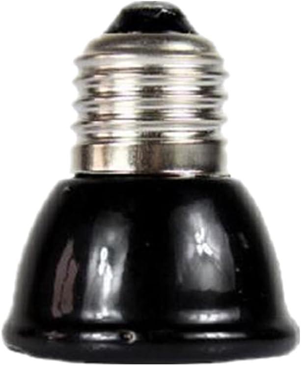 Desconocido Mini-emisor Lámpara Cerámica Infrarroja Criadora Reptil Bombilla Bajo como Mascota Iluminación - 60w