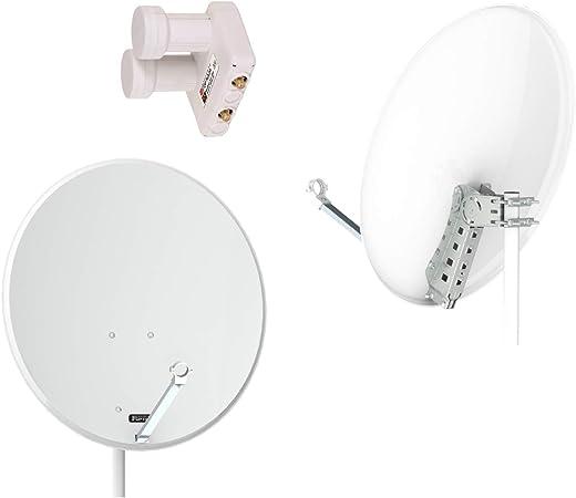 Opticum Qa80 Sat Antenne In Aluminium Inkl Opticum Elektronik