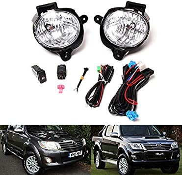 FORD TRANSIT MK7 2006 On BRITISH MADE Fog Light Harness Loom//Switch And BRACKETS