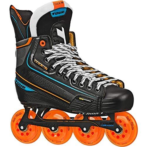 - Tour Hockey Code 1 Senior Inline Hockey Skates Black Size 5