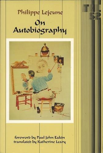 On Autobiography (Theory & History of Literature) by University of Minnesota Press