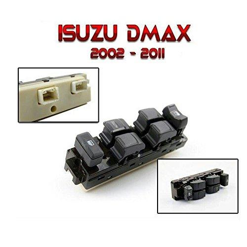 Manual Right Hand Switch - Isuzu Chevrolet Dmax D-Max 2002~2011New RHD Power window switch Main Control