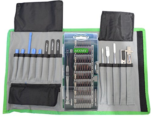ACENIX 76 in 1 Precision Screwdriver Set with Magnetic Driver Kit, Repair Tool Kits with Portable Box for iPad, iPhone, Laptops, PC, Smartphones, Watches and Other Devices