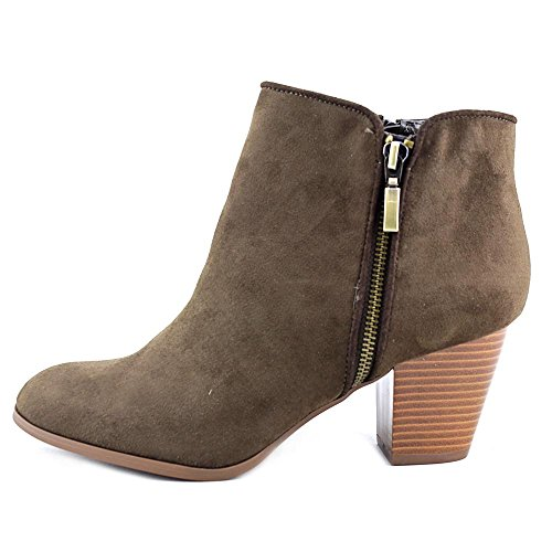 Style Toe amp; Leather Ankle Fashion Boots Jamila Olive Dark Almond Womens Co rOAqwrR
