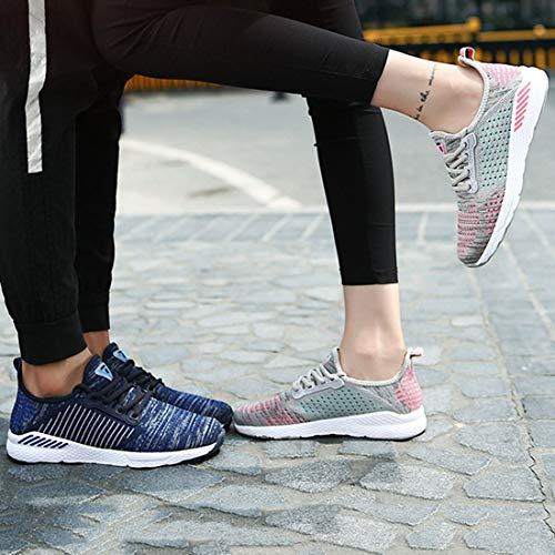pour de Toutes Les de de Maille Sport à en Chaussures Jogging Respirante en Chaussures Lacets Confortables Sport décontractée Saisons Sport Chaussures Zx7PxwSvq
