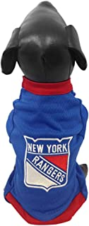 product image for All Star Dogs NHL Unisex-Adult NHL New York Rangers Athletic Mesh Dog Jersey