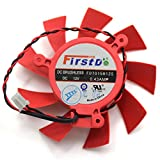 FD7015H12S 12V 0.43A 65mm 2 Pin Replacement Cooling Fan For HD5770 HD5850 HD5830 Graphics Card Fan