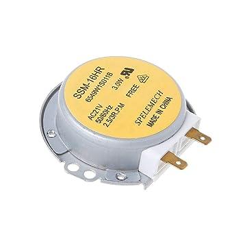 Motor de tocadiscos: Horno microondas giradiscos SSM-16HR ...