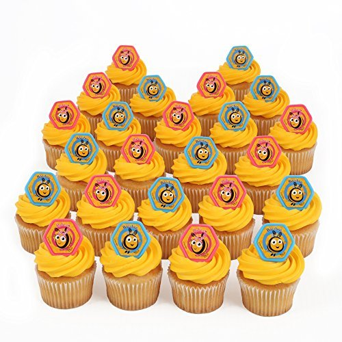 The Hive 24 Cupcake Topper Rings