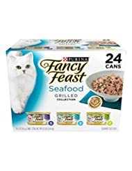 Purina Fancy Feast Grilled Seafood Collection Wet Cat Food Va...