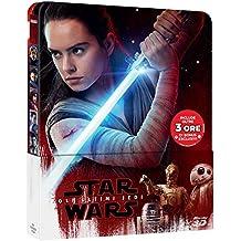 Star Wars: The Last Jedi (3D Blu Ray + 2D) Steelbook Region Free Import