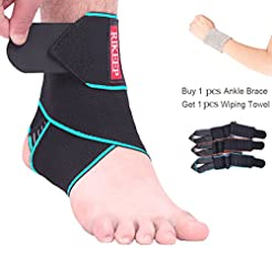 Ankle Support,Adjustable Ankle Brace Bre...