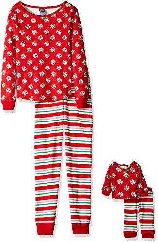 Dollie Me Christmas Stripes Sleepwear