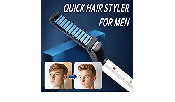 symboat alisador Cabello rizador Quick Hair Styler peine volumize aplatir el lateral derecho para caballero: Amazon.es: Bricolaje y herramientas