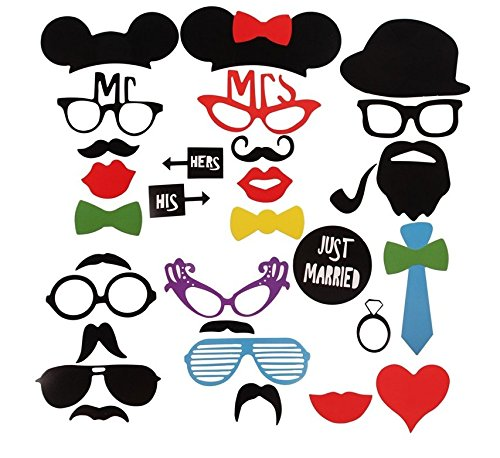 Cutie Made Wedding Bridal Shower Celebration DIY PhotoBooth Props 31 Pieces