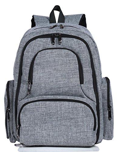 Sleeping Lamb Diaper Backpack Pockets product image
