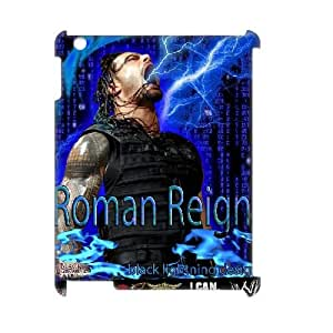 LSQDIY(R) roman reigns iPad2,3,4 Personalized 3D Case, Customised iPad2,3,4 3D Case roman reigns