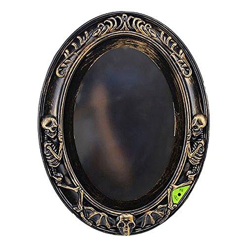 [Trait-Tech Horror Scene Ghost Halloween Party Decoration (Horrible Lighting Mirror)] (Halloween Lighting)