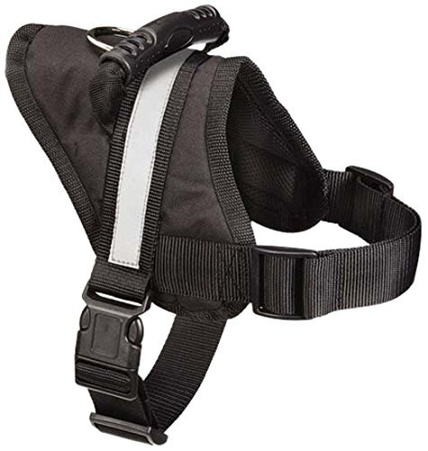 "Guardian Gear Excursion Dog Harness, Large, Fits Chests 27"" to 36"", Black"