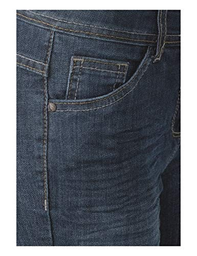 Wash Cecil 10282 Slim Mujer para Mid Vaqueros Blue Blau aarq0w
