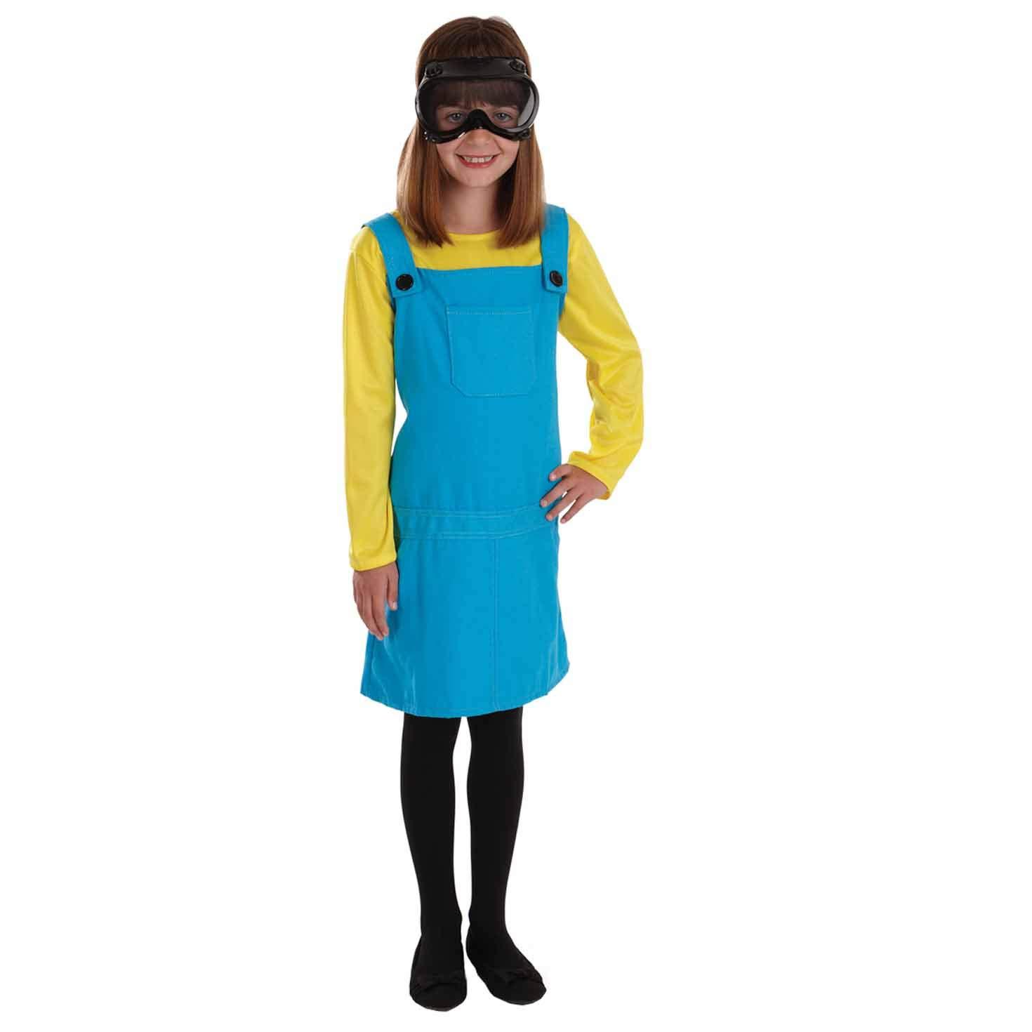 Fun Shack Azul Minion Disfraz para Niñas - L: Funshack: Amazon.es ...