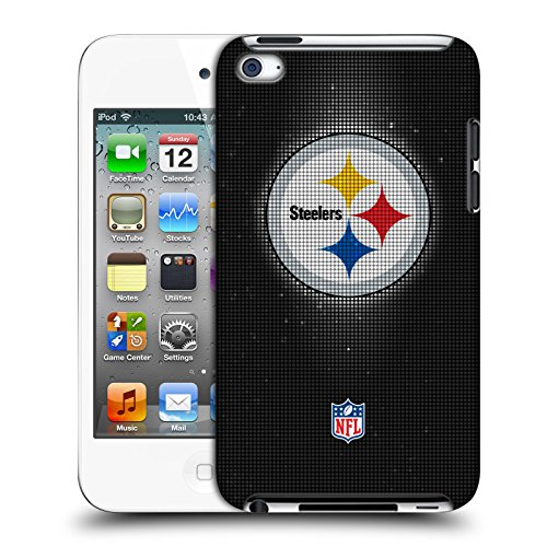 Official NFL LED 2017/18 Pittsburgh Steelers Hard Back Case for Apple iPod Touch 4G 4th Gen