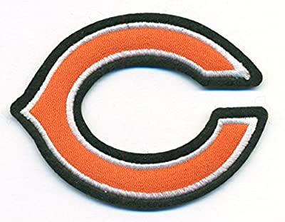 Chicago Bears C Logo Football NFL Embroidered Iron On Patch Hat Jersey