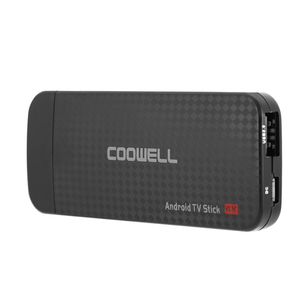 Docooler TV Dongle Android 6.0 TV Dongle Amlogic S905X Quad-Core 1G / 8G UHD 4K Mini PC DLNA VP9 H.265 WiFi HD Media Player US Plug by Docooler (Image #4)